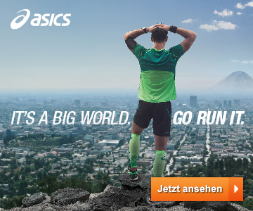 ASICS - It's a big world. Go run it.