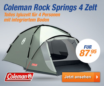 Coleman Rock Springs 4 Zelt
