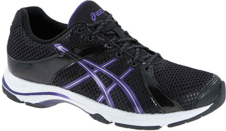 buy online 0c2f7 1713f ASICS Ayami Kensei Onyx/Purple/Silver Damen Fitness-Schuh