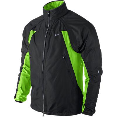 nike shifter jacket black green herren. Black Bedroom Furniture Sets. Home Design Ideas