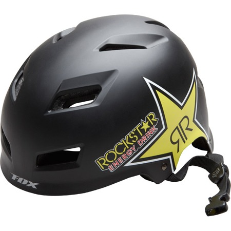 Rockstar Transition Hardshell Helm schwarz matt