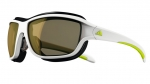 Terrex Fast White Met/Lime Space/LST Bright Antifog Sonnenbrille