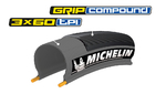 Michelin Lithion2 Race Faltreifen Grau 700x23C