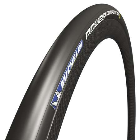 Michelin Power Competition Race Faltreifen Schwarz 25mm