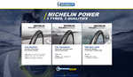 Michelin Power Endurance Race Faltreifen Schwarz 23mm